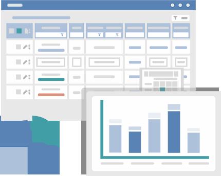 Решение – Конструктор бизнес приложение NinjaTable